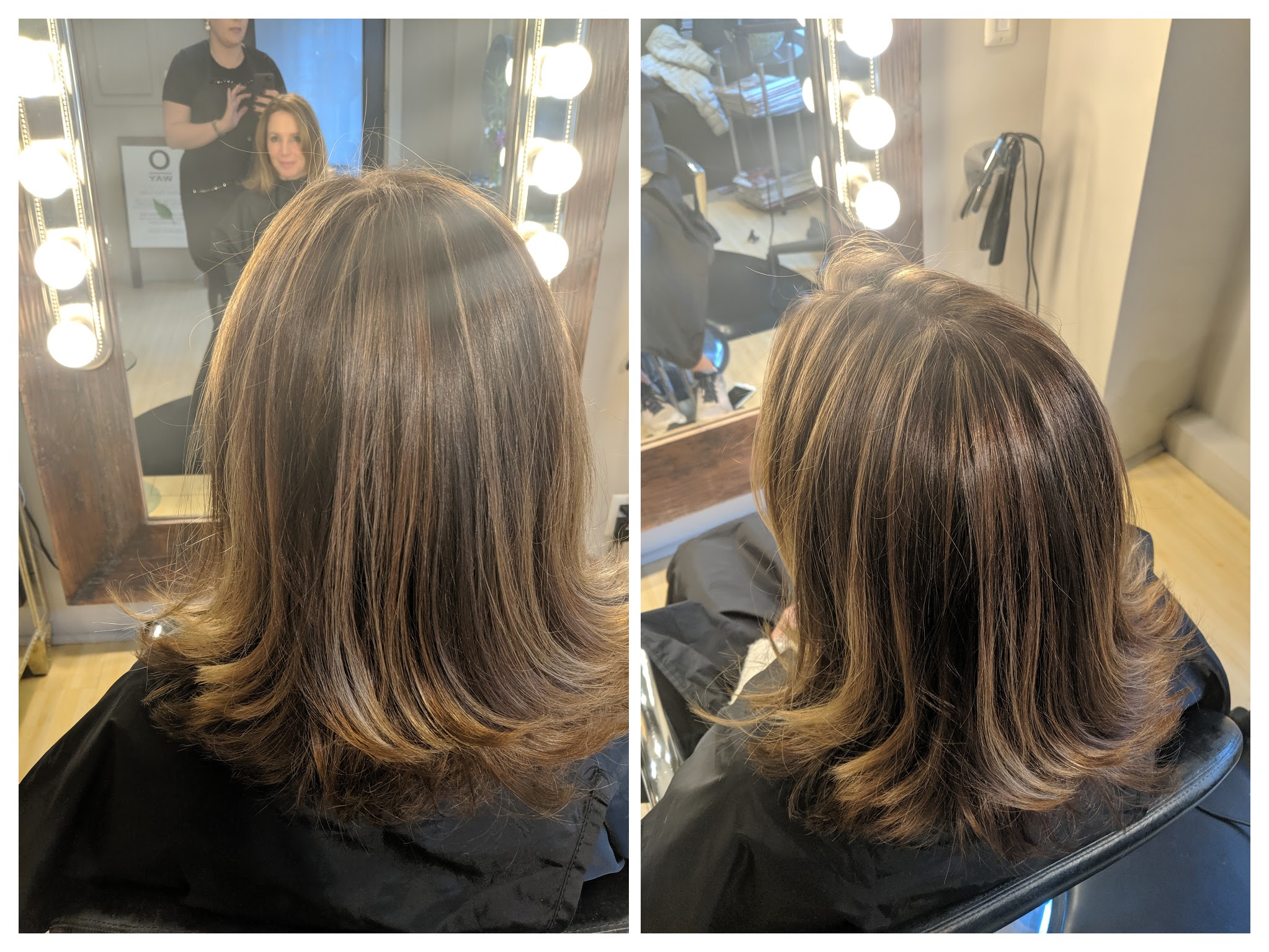 Highlight / Root touch /Haricut