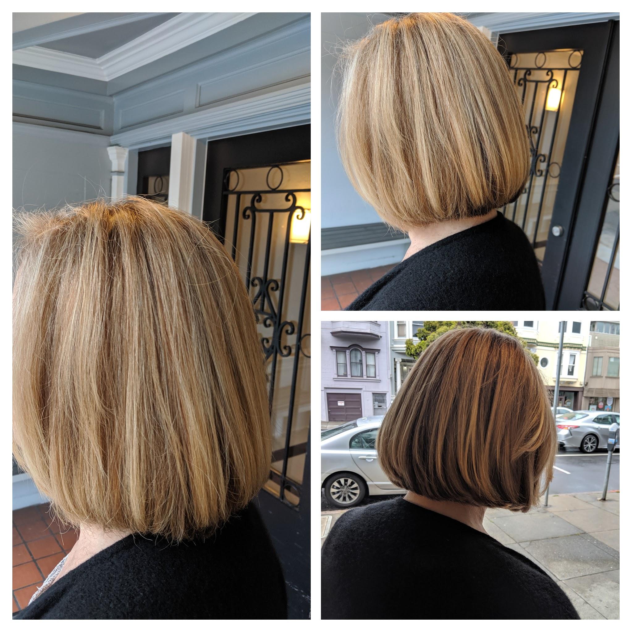 Highlight/Haircut/Style