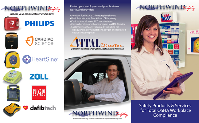 Northwind Safety 3 Panel Brochure-outside