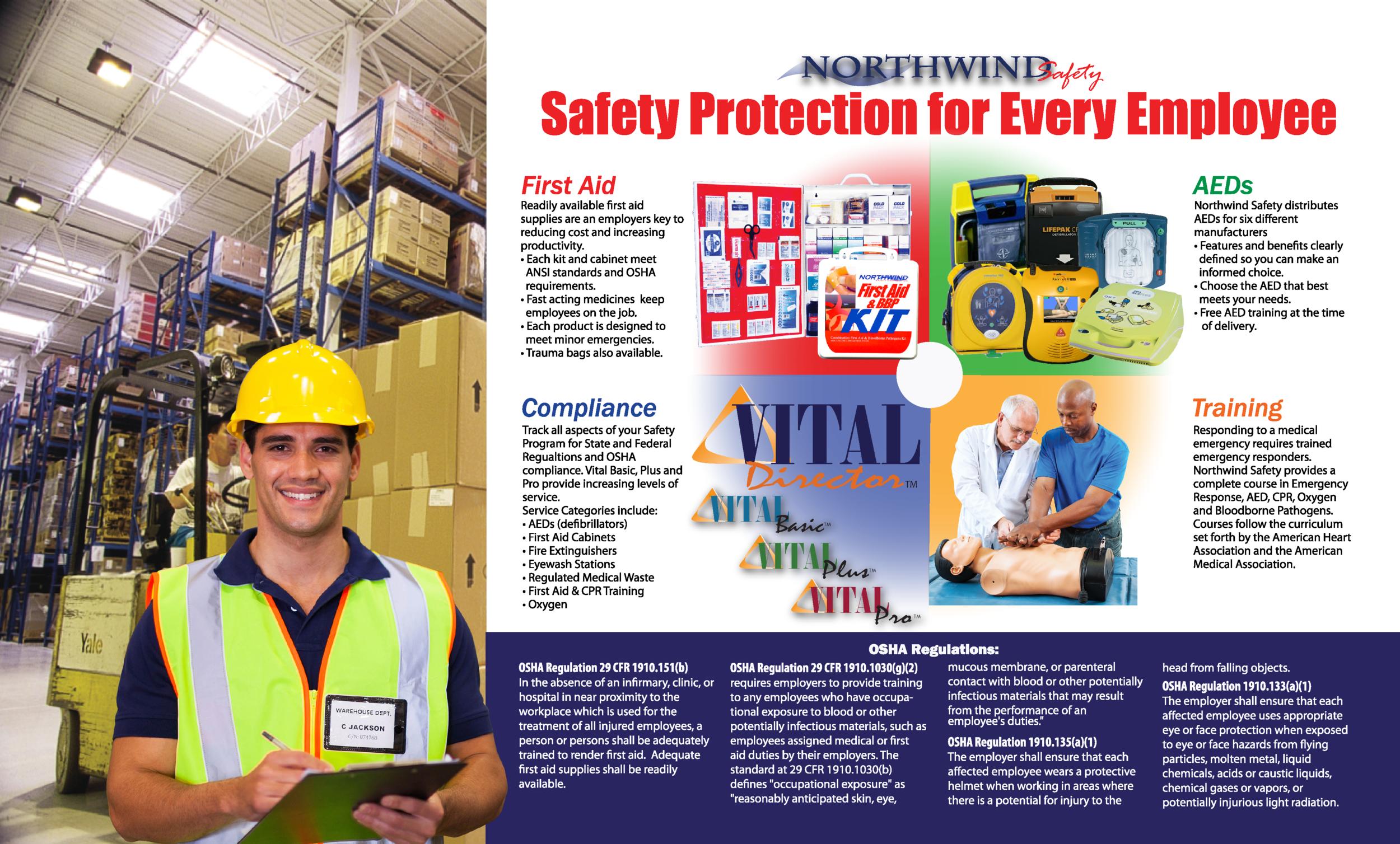 Northwind Safety 3 Panel Brochure-inside