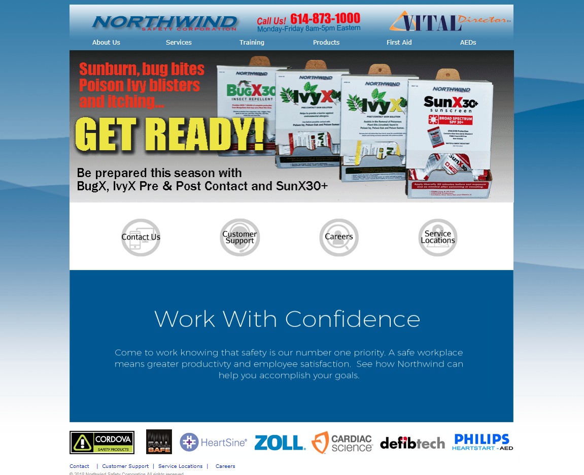 Northwind Safety Home Page
