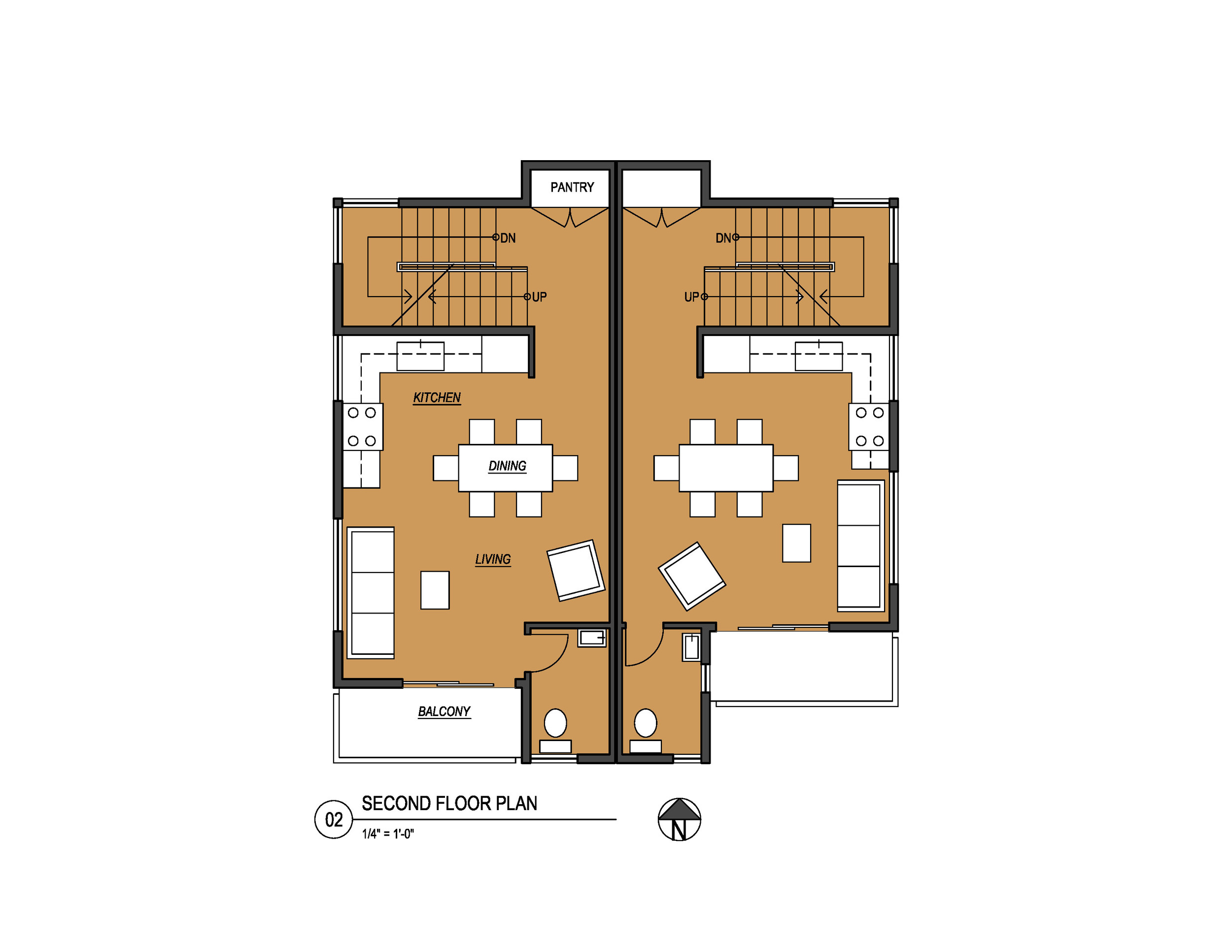 graphicNW60thTownhouses2ndFloorPlanCopyrightVELOCIPEDEarchitectsinc2016 1.jpg