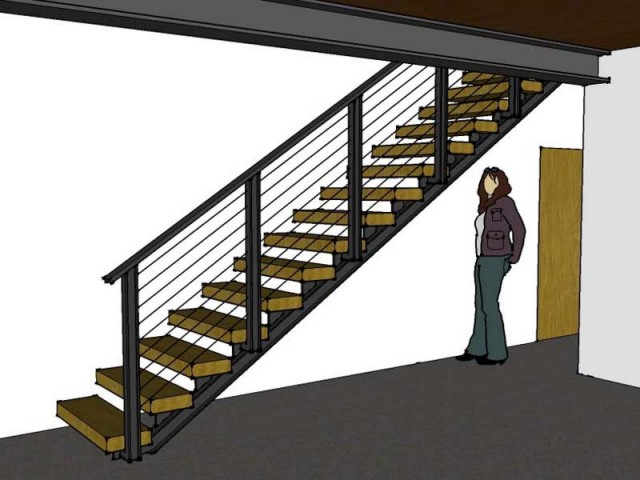 3D of stair