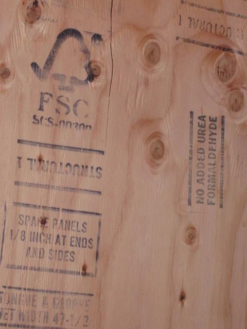 FSC certification stamp