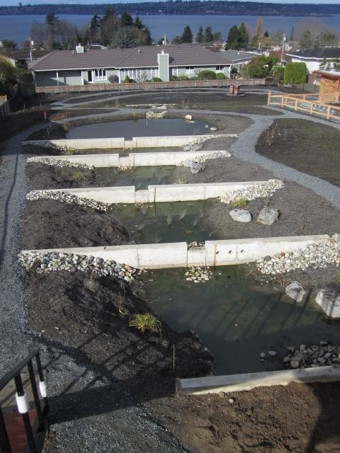 concrete dams create terraces
