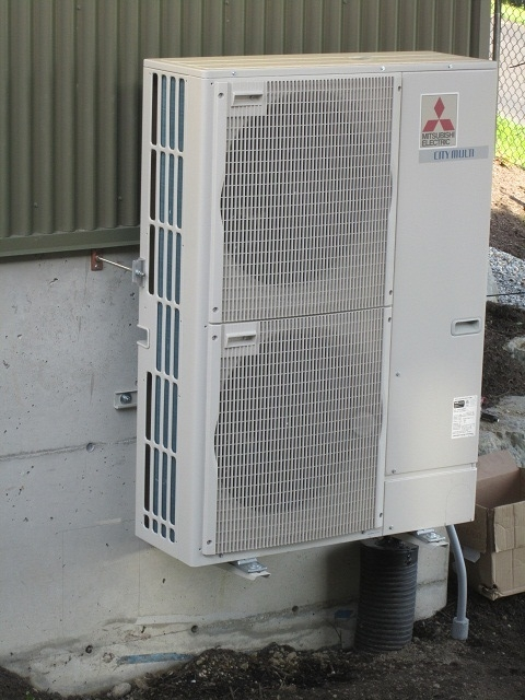 outdoor heat pump compressor