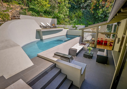 HOLLYWOOD HILLS - Outpost - 4 Bd, 3 Bth