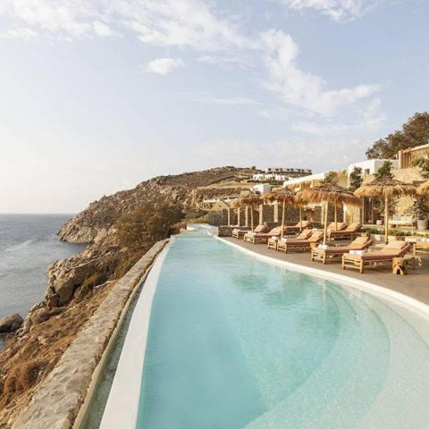 GREECE,  MYKONOS  - THE WILD HOTEL