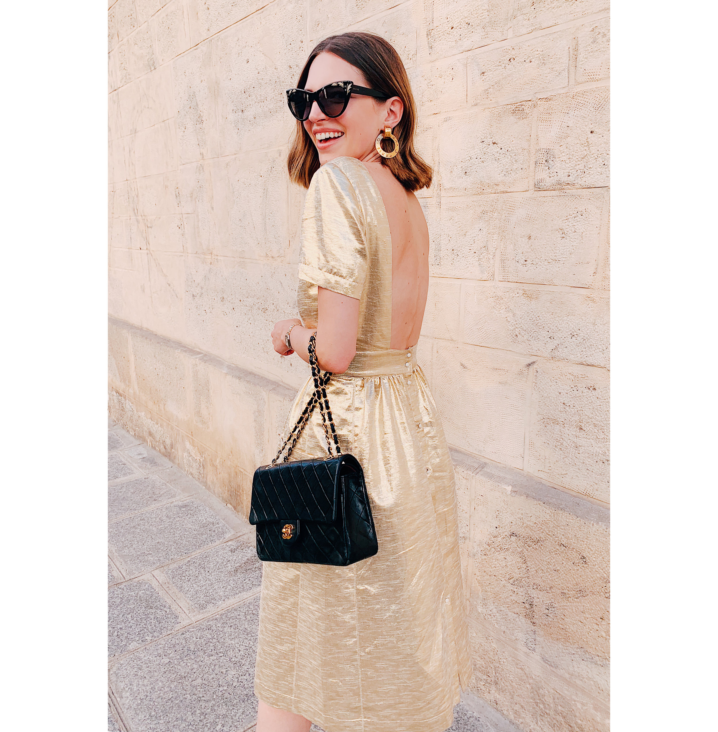 Paris 1 Gold Sezane Dress.jpg