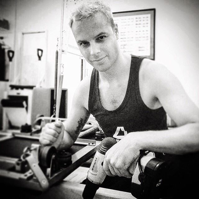 An oldie but a goodie! In addition to teaching, I love to get down and dirty with apparatus repair. It took a few years to build up a the skills and protocols necessary, but the difference of a well- and regularly-tuned apparatus is undeniable. #Pilates #Contrology #NewContrology #Reformer #ApparatusRepair