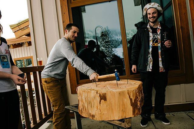 Throwback to when @zumiez partied down at @stevenspass and decided to add a little leisure to the mix!