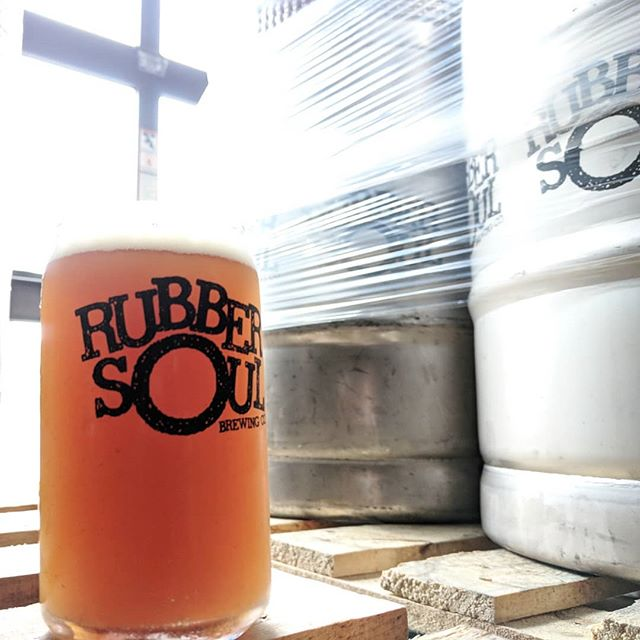 Look out for our new brew, Cloudy Ride IPA. The outlook on this IPA: partly cloudy, mostly hoppy and 100% enjoyable.  #craftbeer #cloudyride #ipa #rubbersoulbrewing #rubbersoul #marylandcraftbeer #pennsylvaniacraftbeer #newbrew