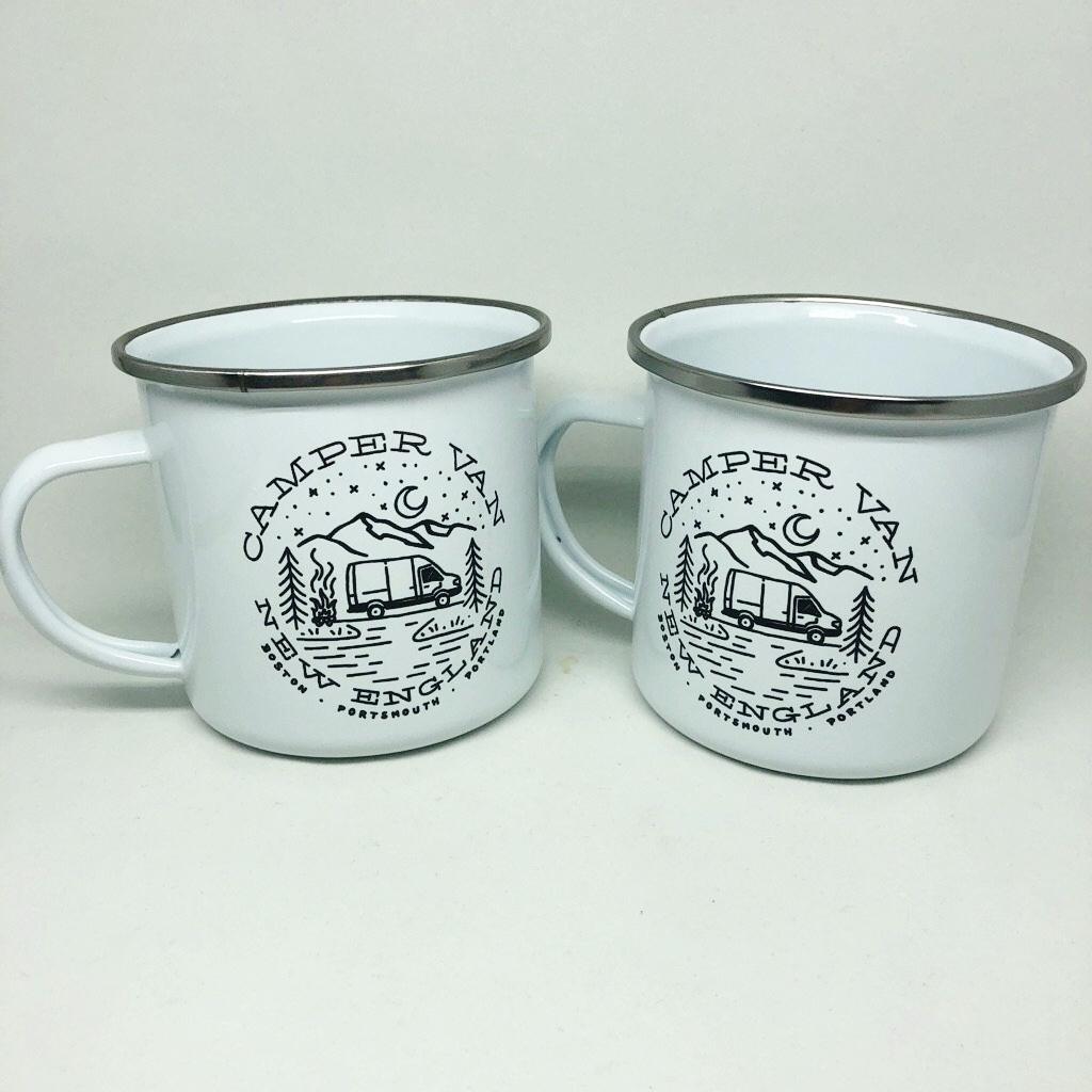 Campe rVan New England mugs