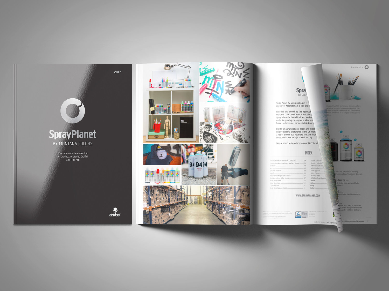 Spray Planet Art Supplies Catalogue -