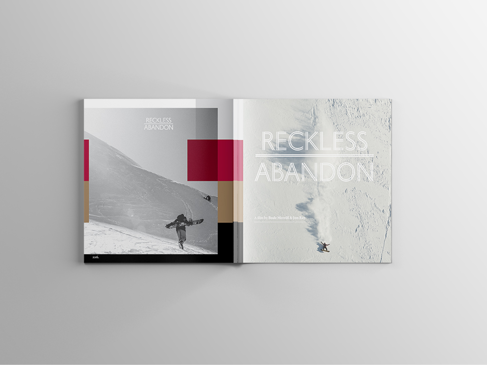 Reckless Abandon Book (2016) -