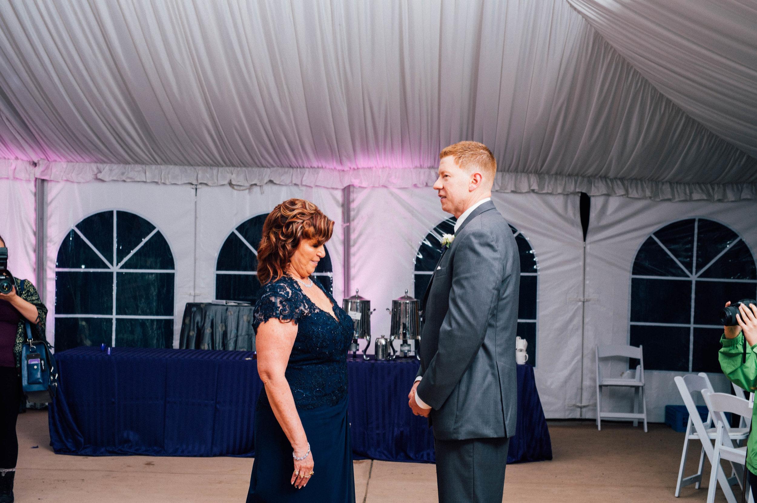 surprise first dance wedding inspo