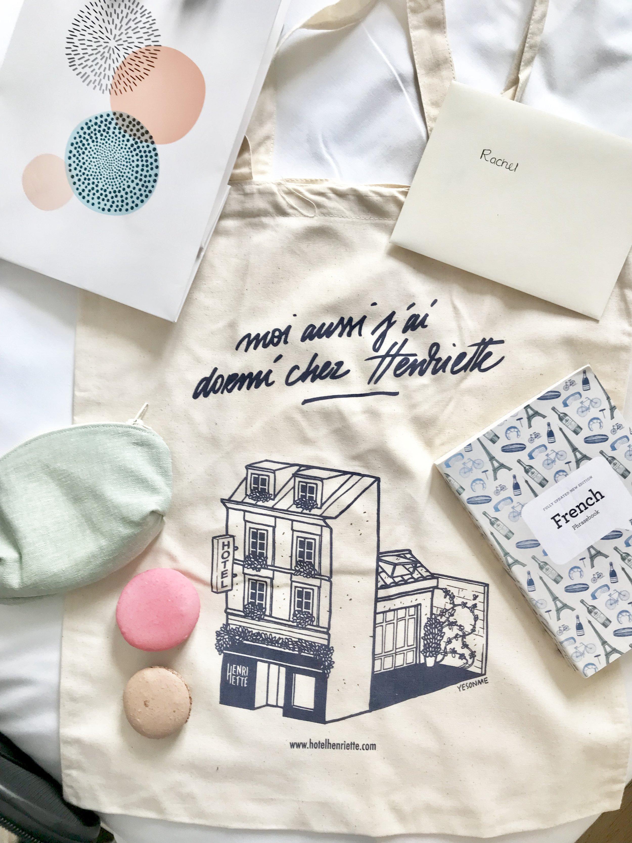 welcome to paris bag