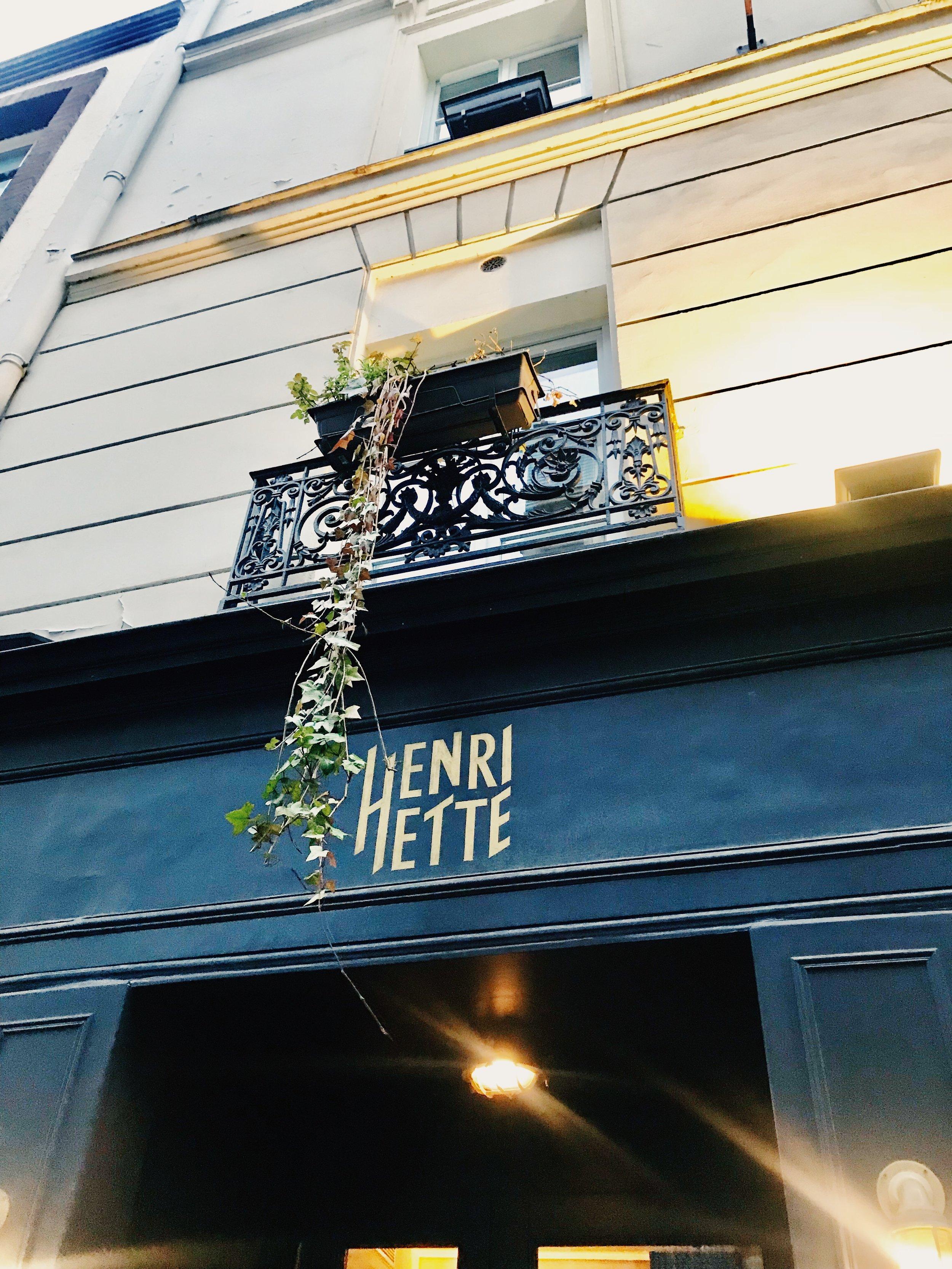 Hotel Henriette Paris .JPG