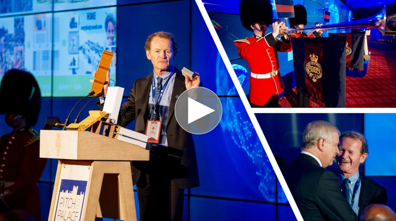 NevHouse awarded entrepreneur of the year by the Duke of York.   NevHouse is proud to announce it has been awarded the highest honour from over 25,000 enterprises worldwide at the Duke of York's annual Pitch@Palace Global event.