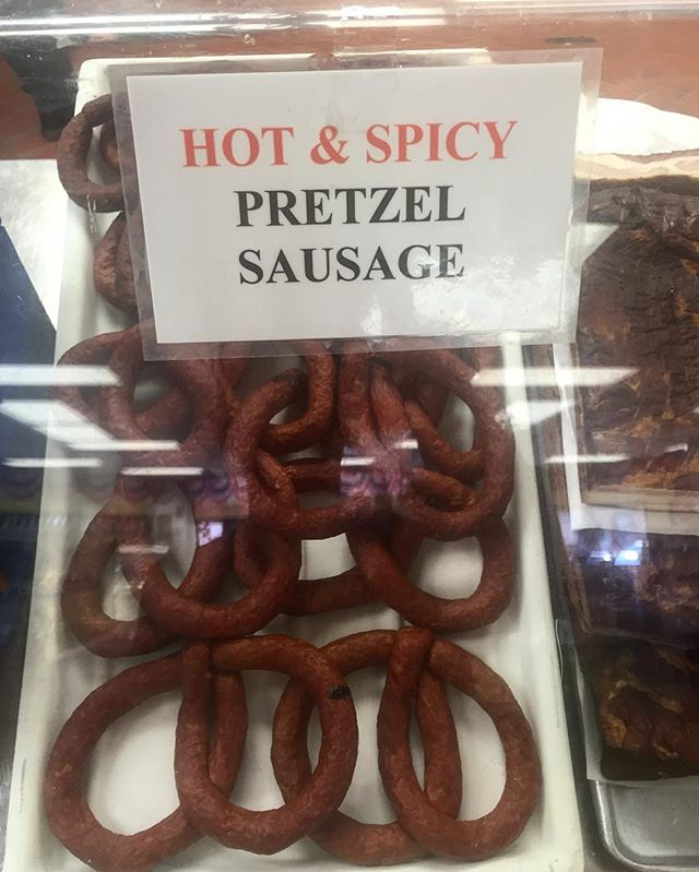 Yes please. #pretzel #sausage #chicago #labordayweekend