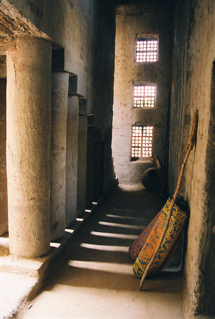 Hallway in a Mosque.
