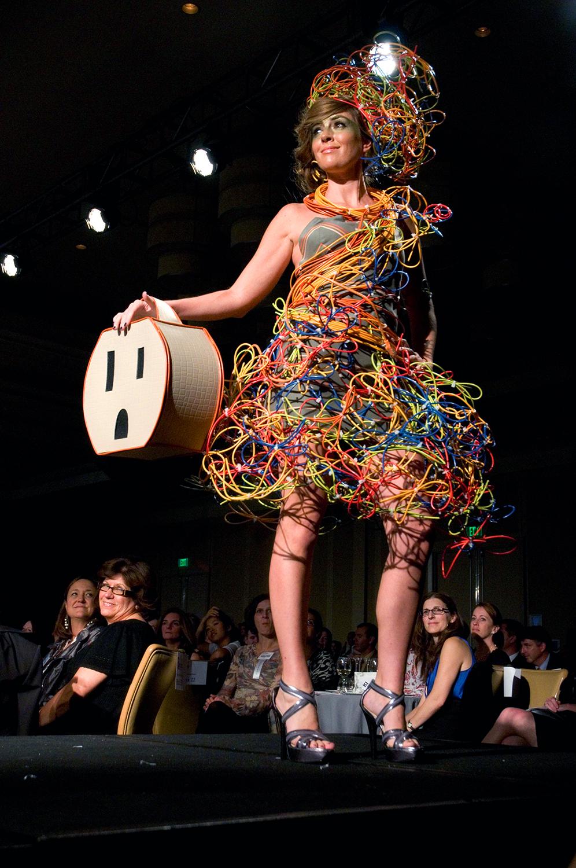 IIDA New England Fashion Show in Boston, MA.