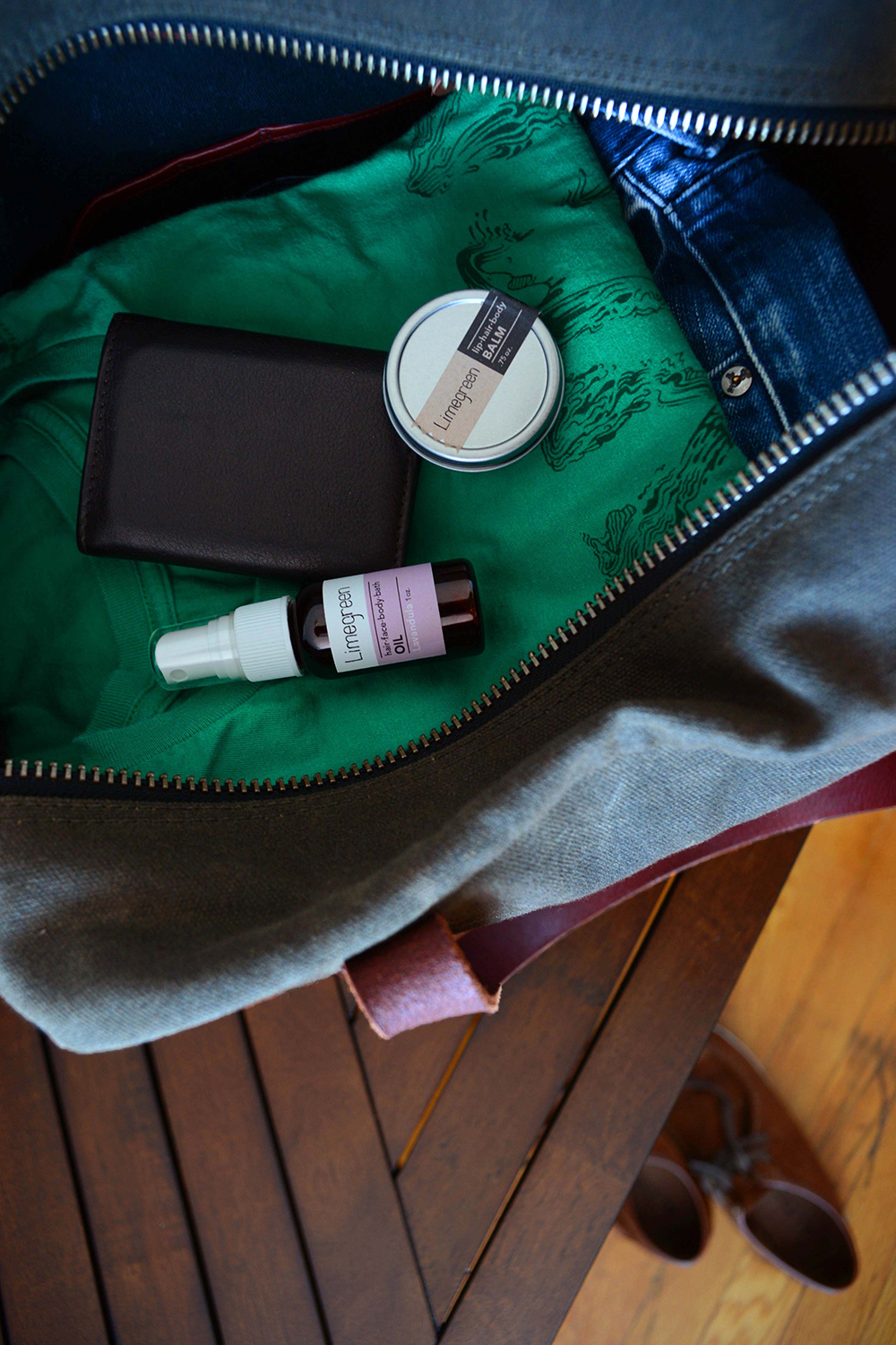 Travel size Lavandula Oil and Balm from Limegreen.    brooklynlimegreen .com