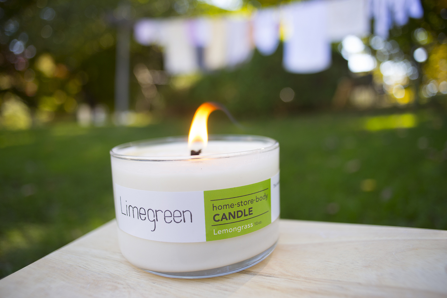 Lemongrass Candle from Limegreen.    brooklynlimegreen .com