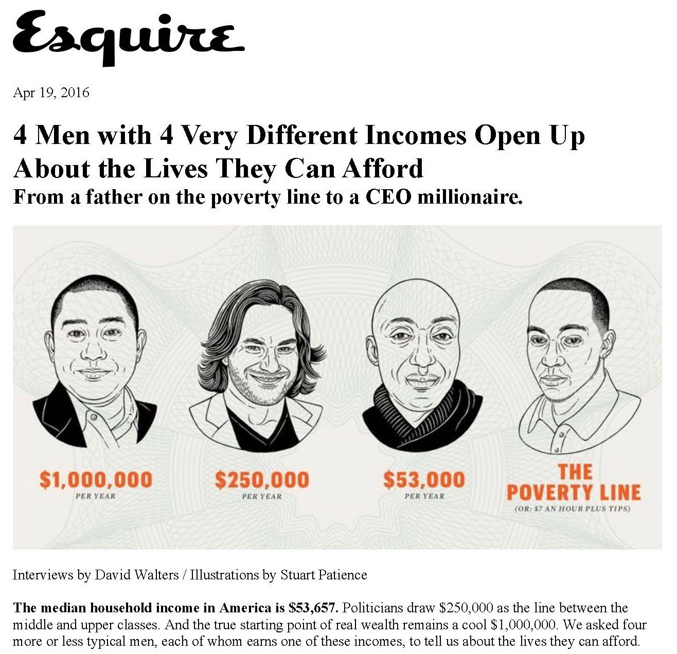 2016-April-Esquire-Four Men Four Different Incomes-Page1.jpg