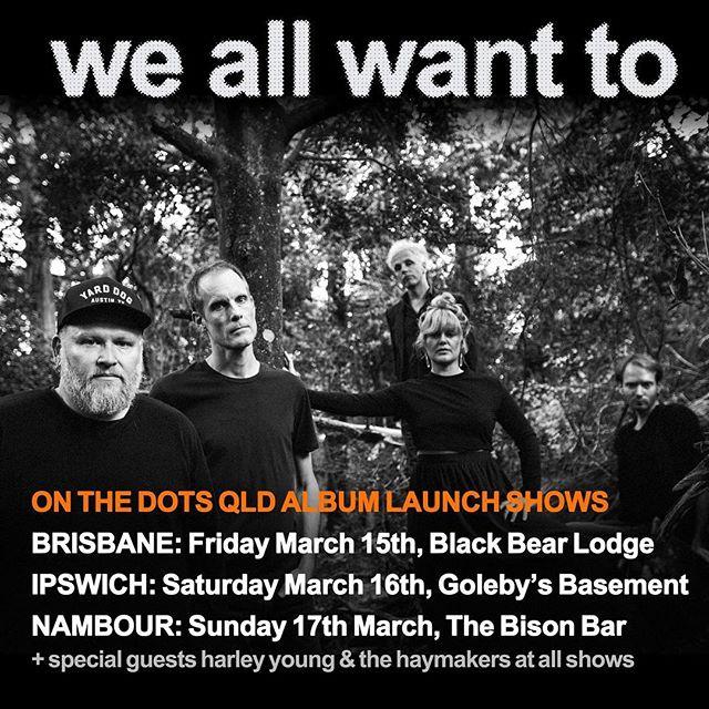 See you on Sunday arvo 3pm. https://www.stickytickets.com.au/81821 @weallwanttomusic