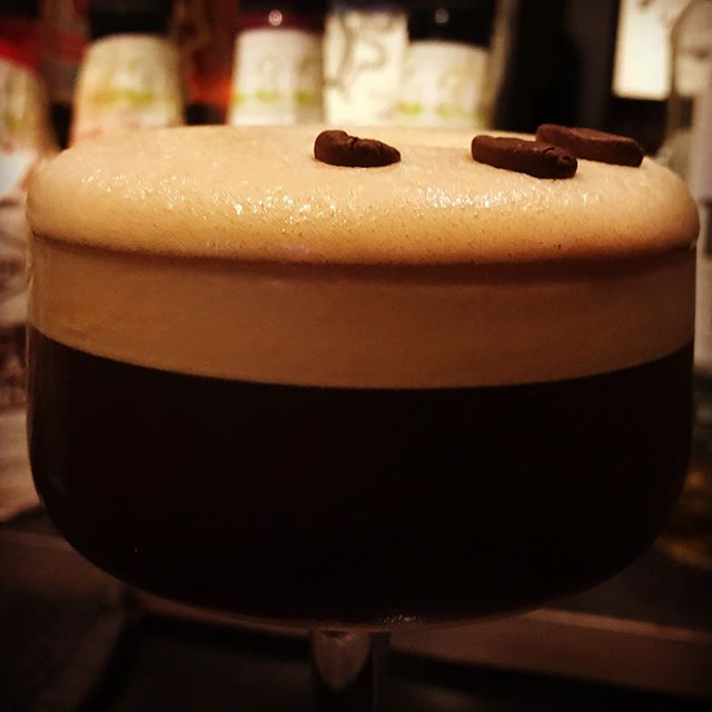 Frothing for an Espresso Martini  #thebisonbar #artdeco #artnouveau #espressomartini #cocktails #cocktaillounge #cocktailbar #loungebar #livemusic #livemusicvenue #nambour #yesitsinnambour #visitnambour #visitsunshinecoast