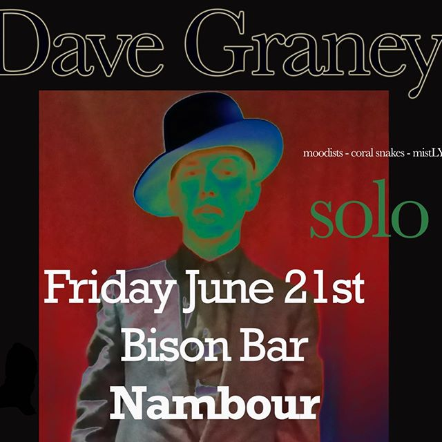Catch Dave Graney this Friday night at The Bison Bar. Tickets are selling like hot cakes, like hot cakes I say!! https://www.stickytickets.com.au/83454. #davegraney #yesitsinnambour #nambourbynight #sunshinecoast #nambour