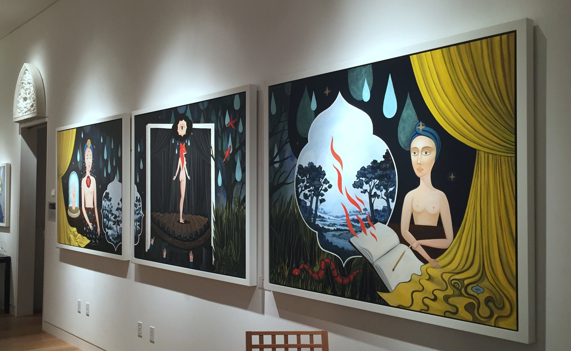 Pageantry of Vision  by Anne Faith Nicholls at Martin Lawrence Galleries, South Coast Plaza