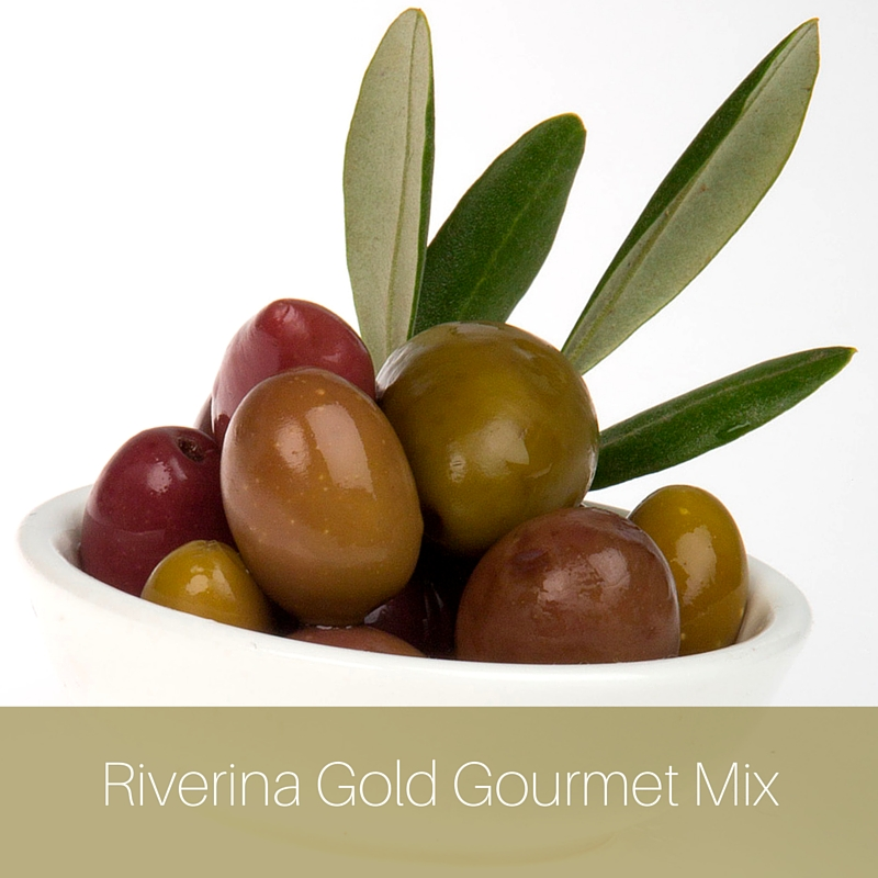 RIVERINA GOLD LABEL GOURMET MIX OLIVES
