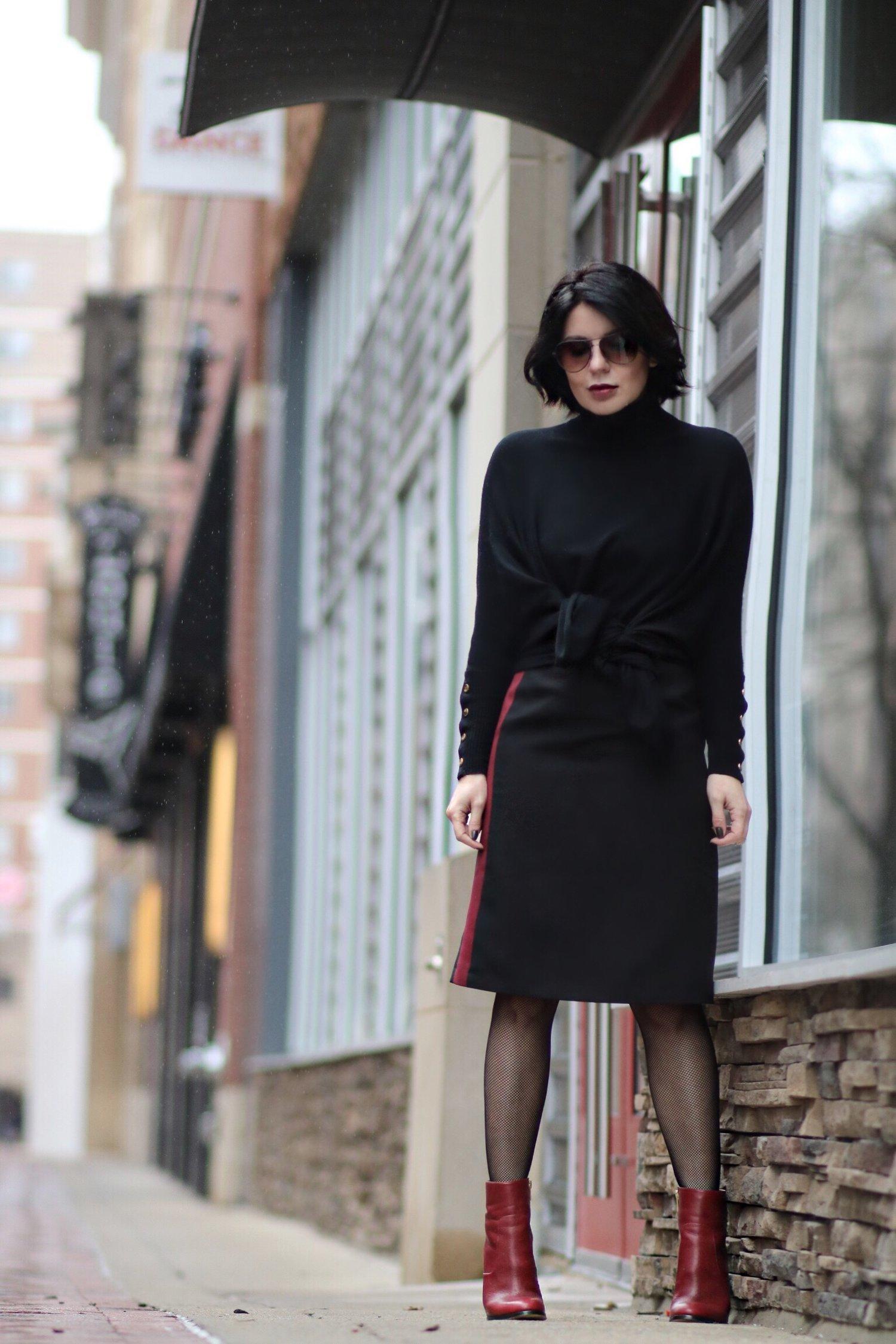 side-stripe-skirt-blogger-style
