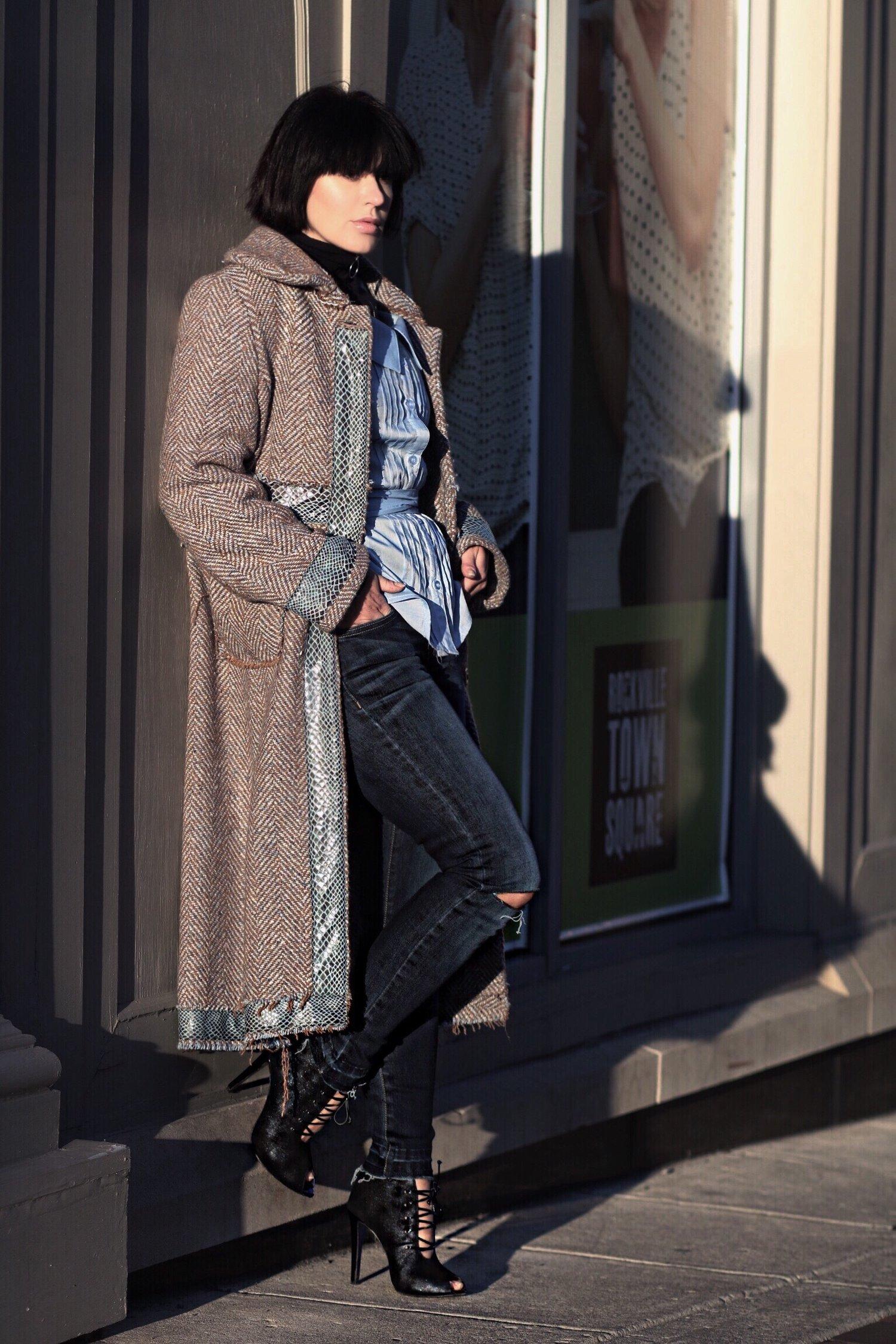 tweed-coat-denim-streetstyle