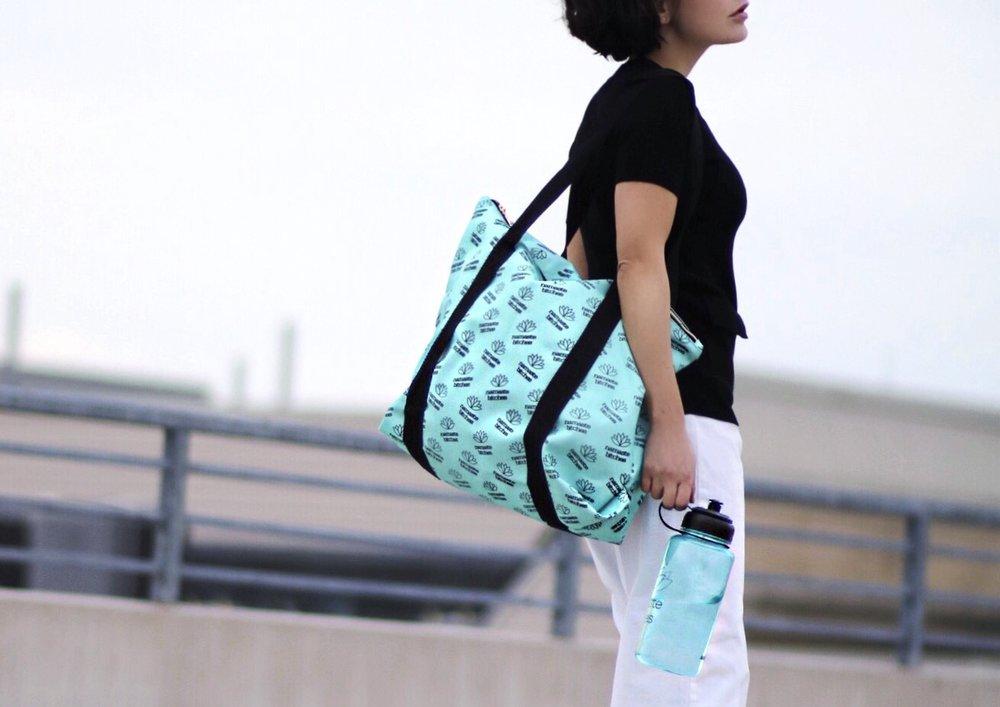 close up Ankitgym bag blogger photo