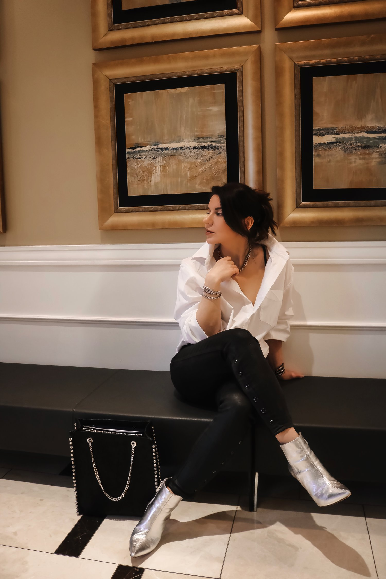 Date-night-white-shirt-coated-denim-outfit