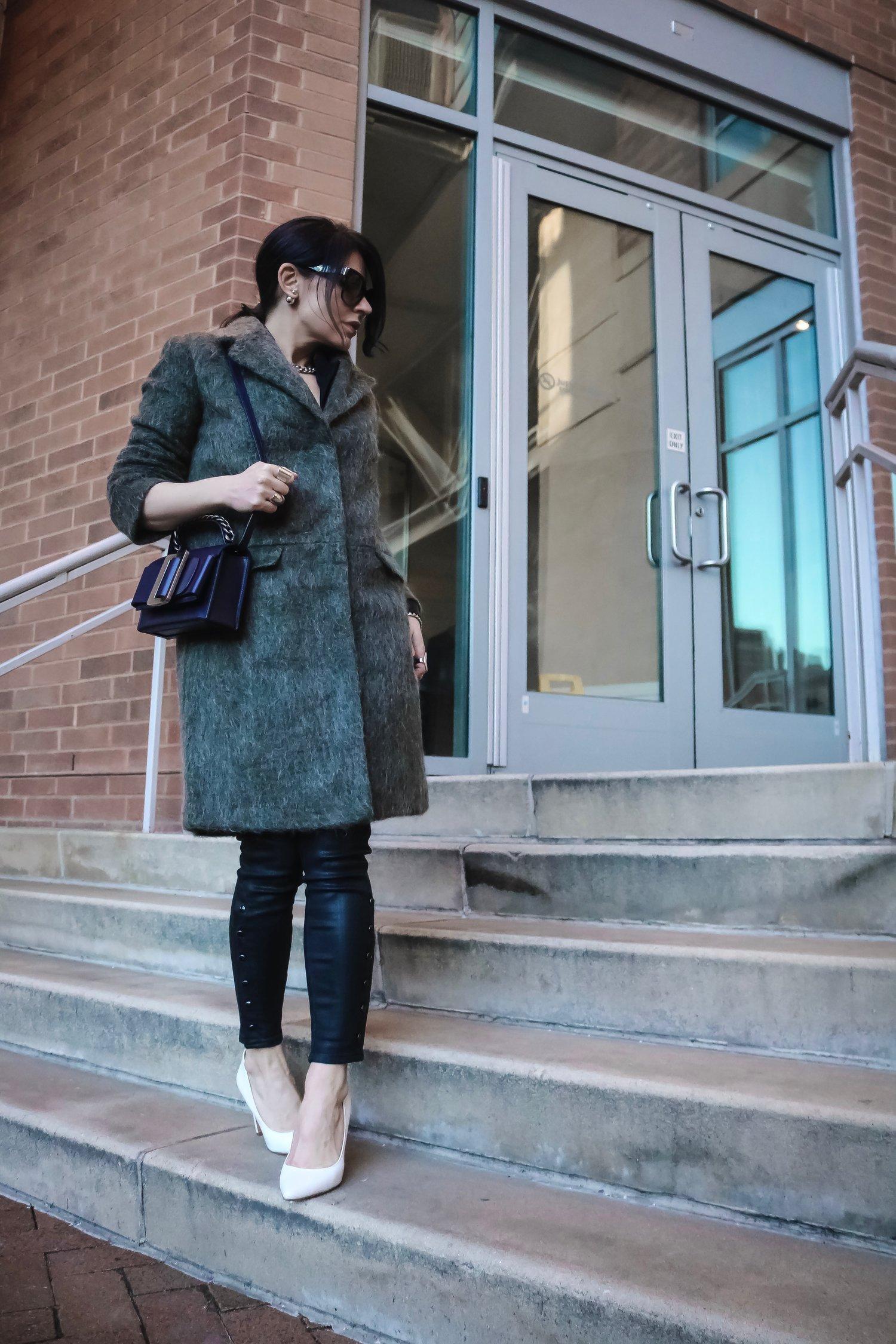 Isabel-Alexander-wearing-Asos-spring-coat-white-heels