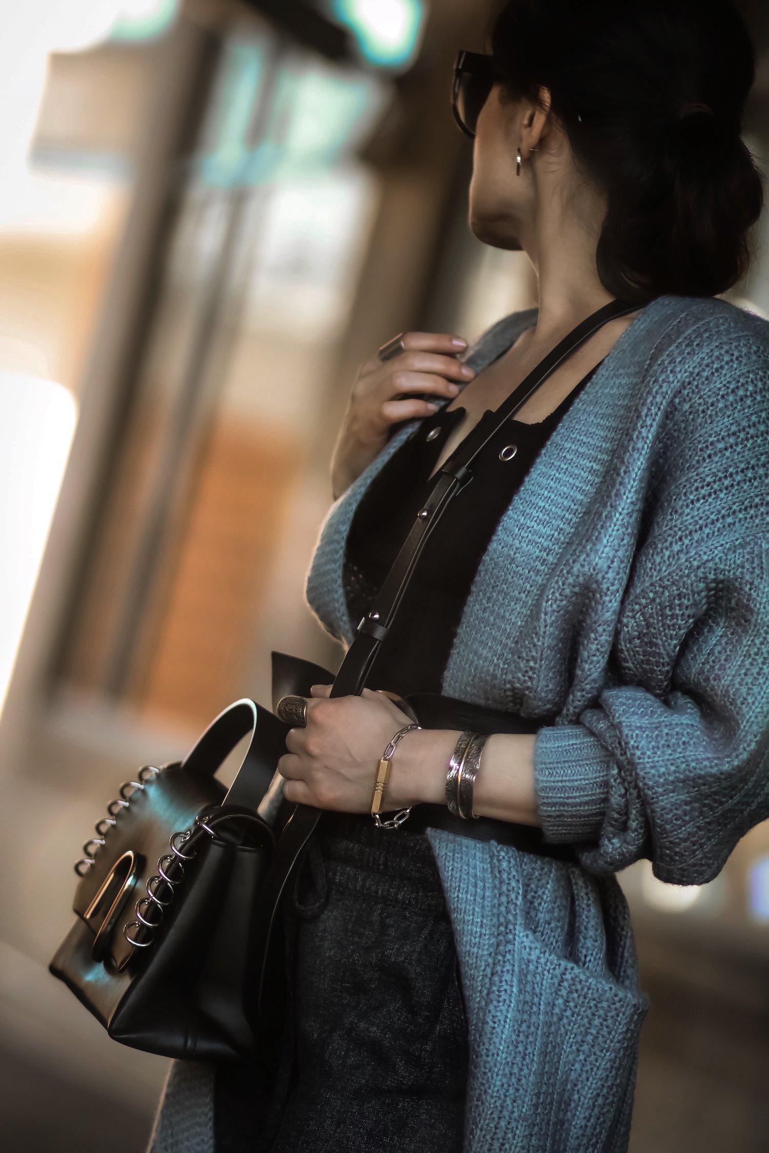 Isabel-Alexander-details-Revolve-cardigan-JasmineLaw-bracelet