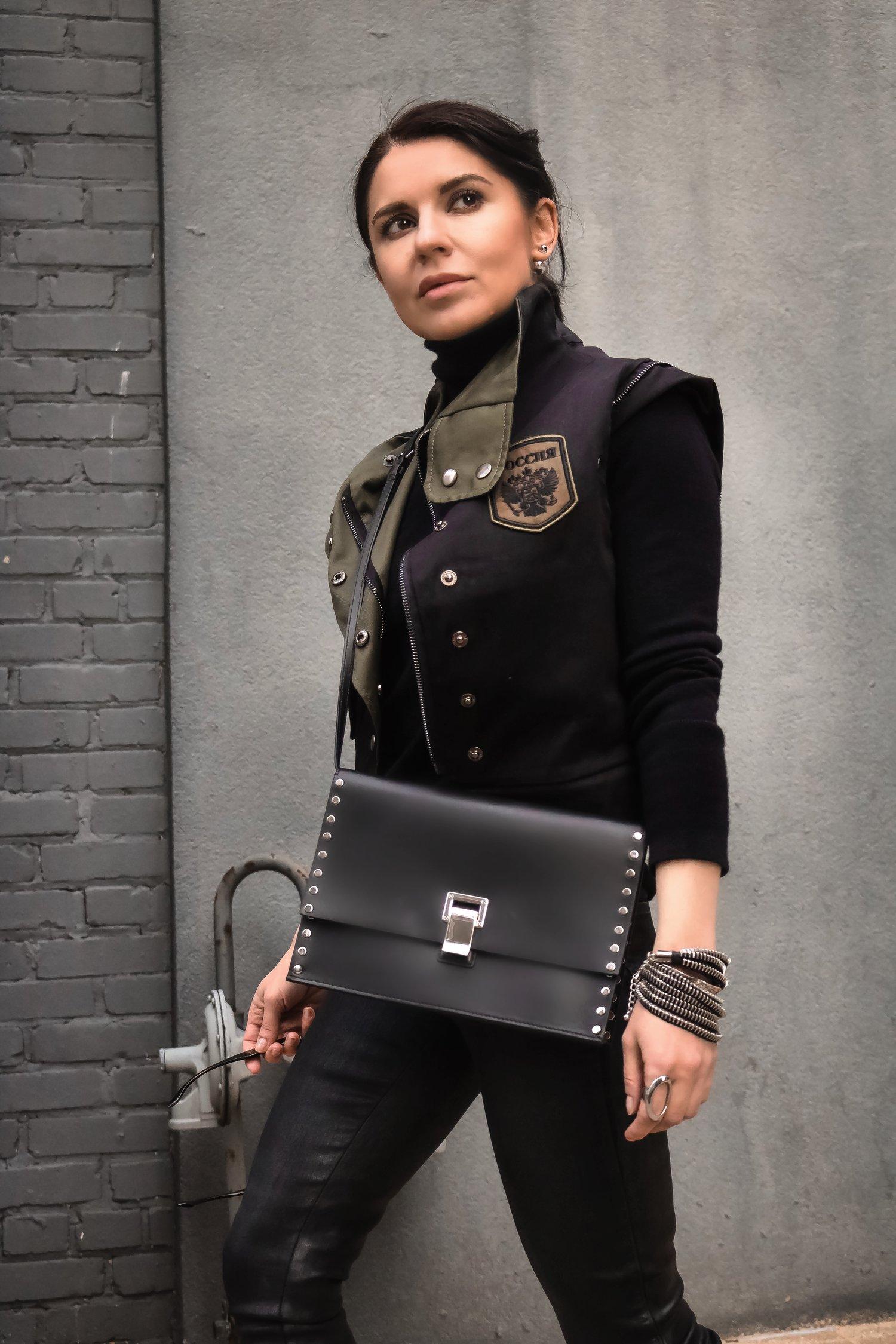 Isabel-Alexander-Clothia-vest-Proenza-Schouler-bag