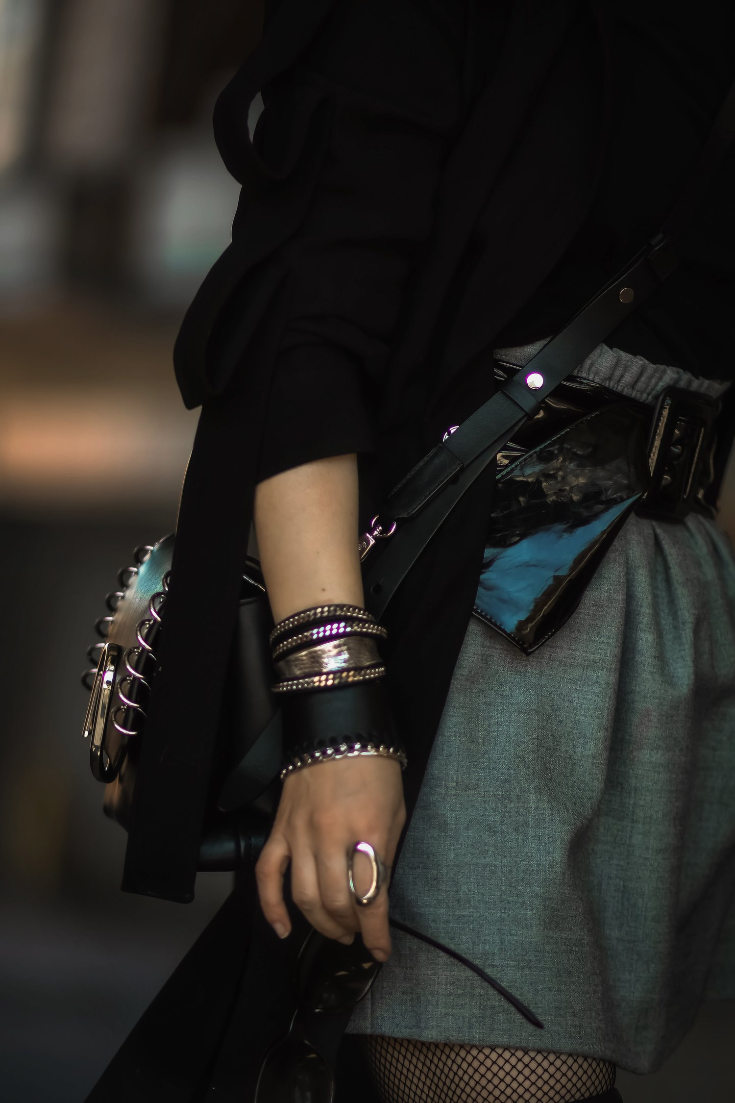 Isabel-Alexander-The-Dark-Shop-Bracelet-stack