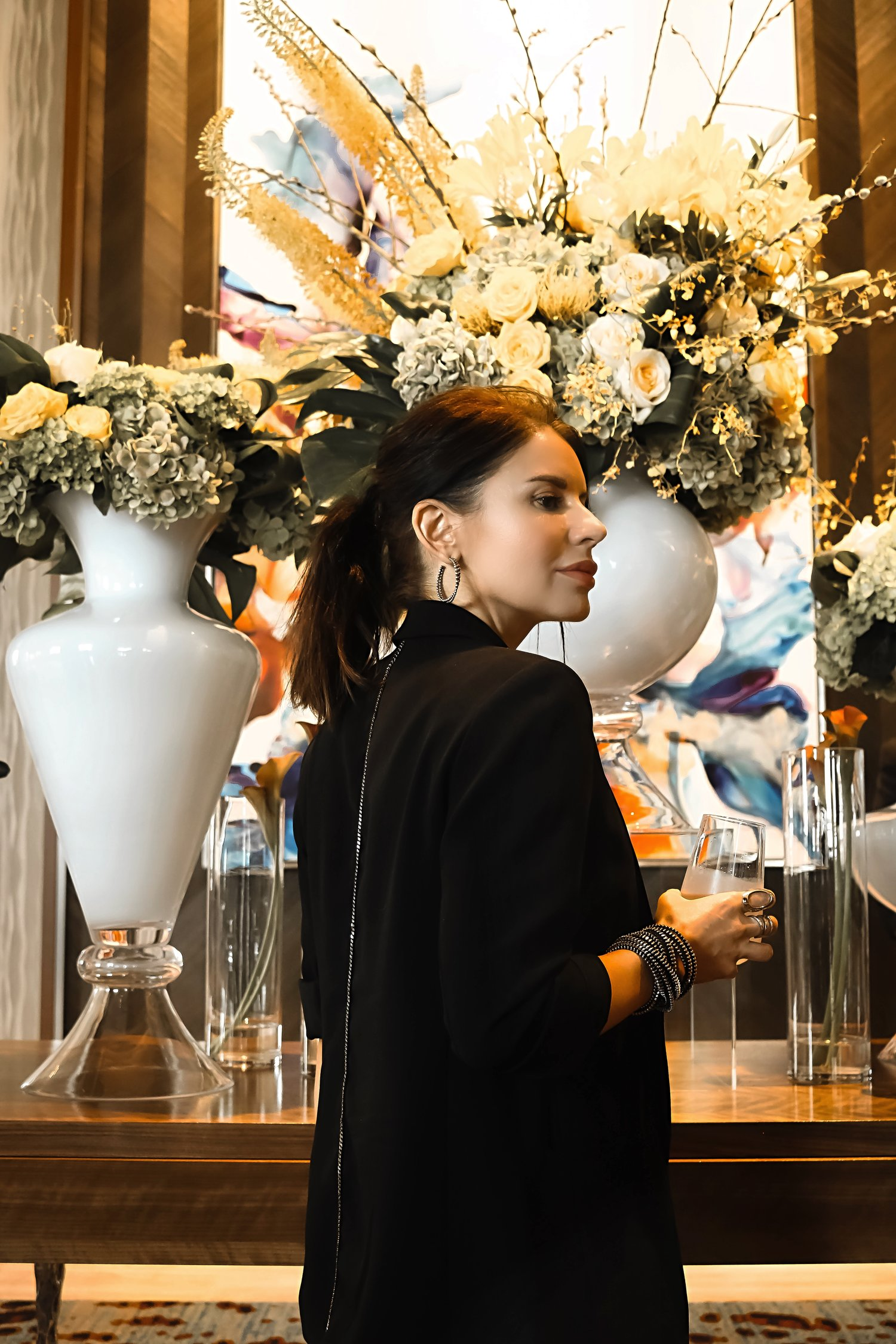 Live Hotel Casino Floral Decor Hotel Lobby Isabel Alexander