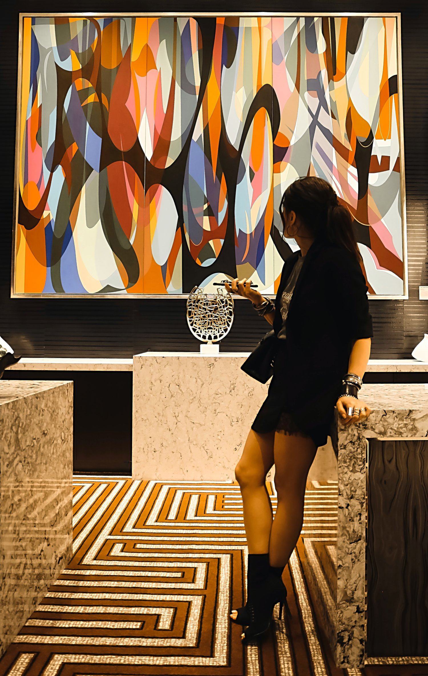 Live Hotel Casino Painting Isabel Alexander