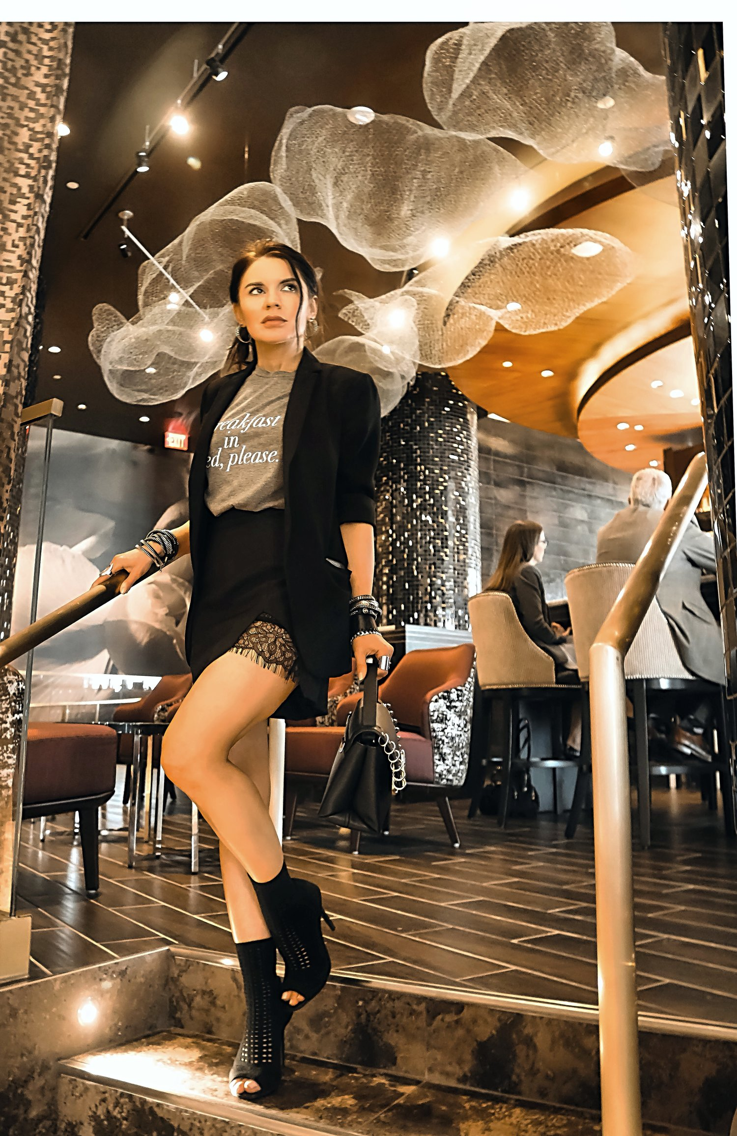 Live Hotel Casino David Restaurant Bar Mesh Cloud Artwork Decor Isabel Alexander