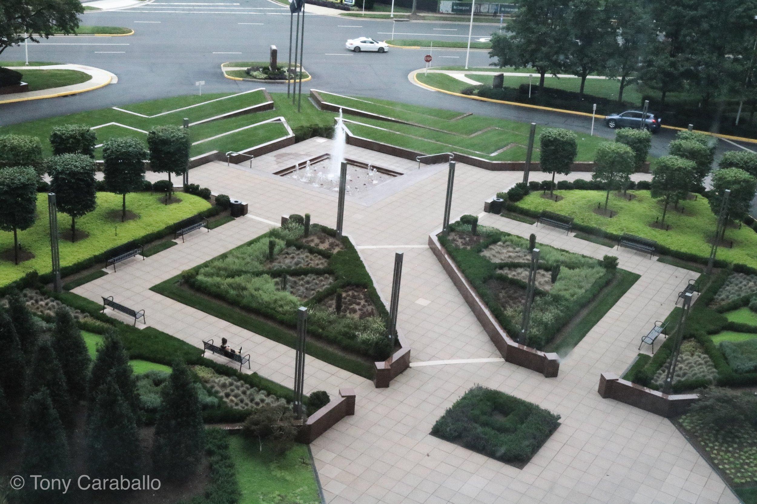 Ritz Carlton Tysons Corner front garden