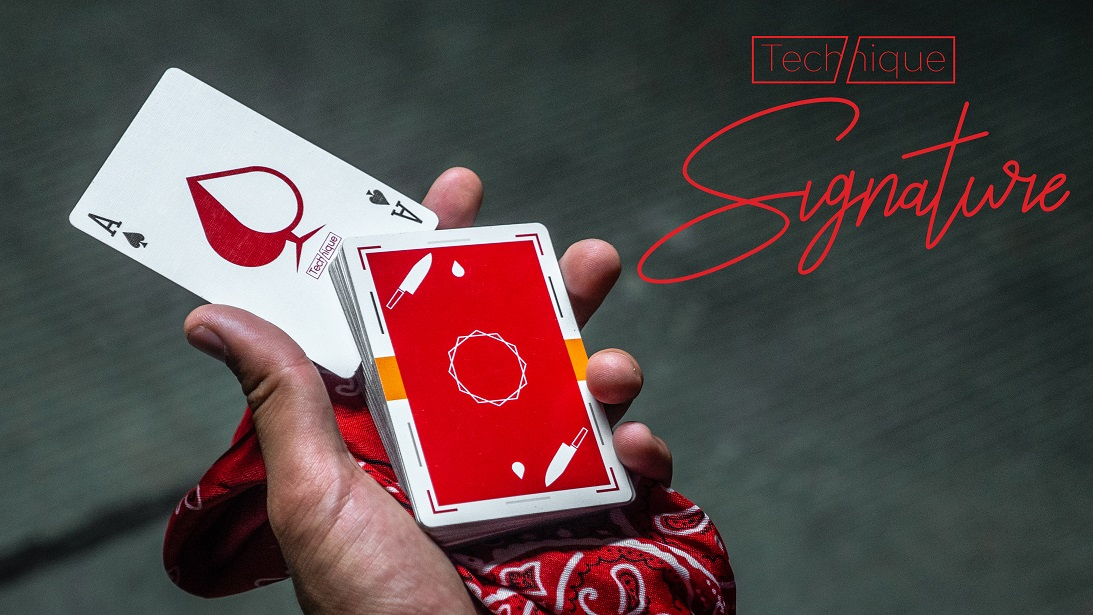 Here to Help. - Technique is the FIRST and ONLY deck of cards designed specifically to help you create Cardistry instantly.