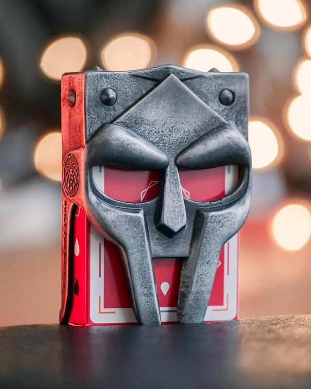 MF DOOM. Don't forget your potholders 🍵 I backed this project FIVE YEARS AGO on Kickstarter just to make this post on how this card clip looks like Doom. Just got the clip in the mail.  Shout out @kingsncrooks for coming through with the clip 👌🏻