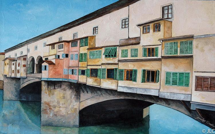 The Golden Bridge, Florence, Italy