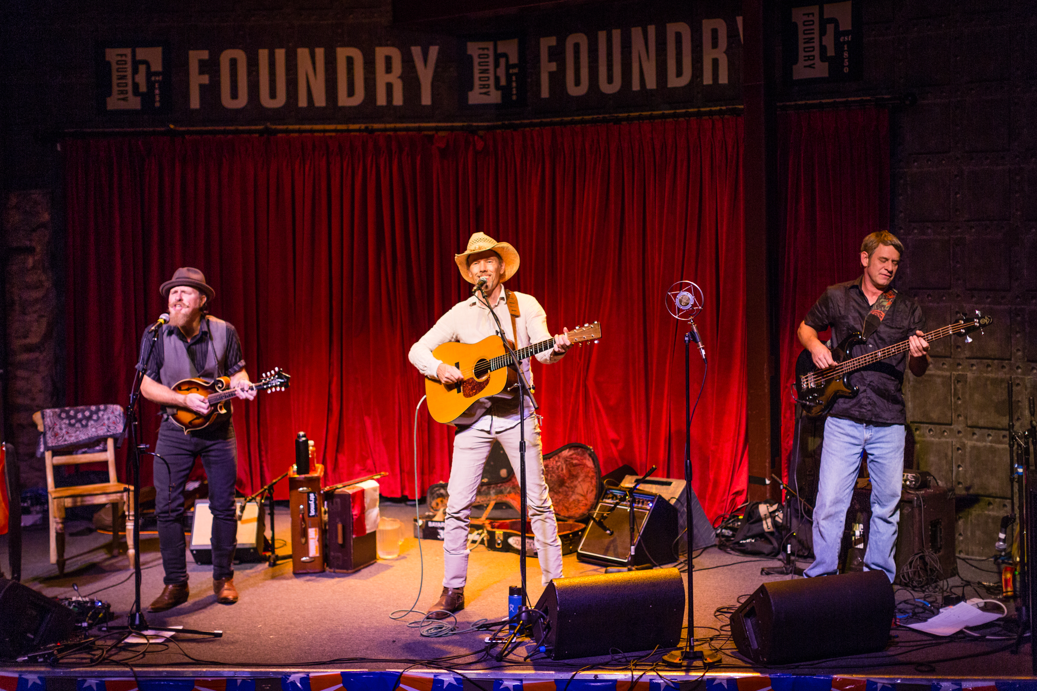 Johnny Waken, Jonathan Byrd, and Neal Fountain